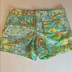 Lilly Pulitzer under the sea shorts